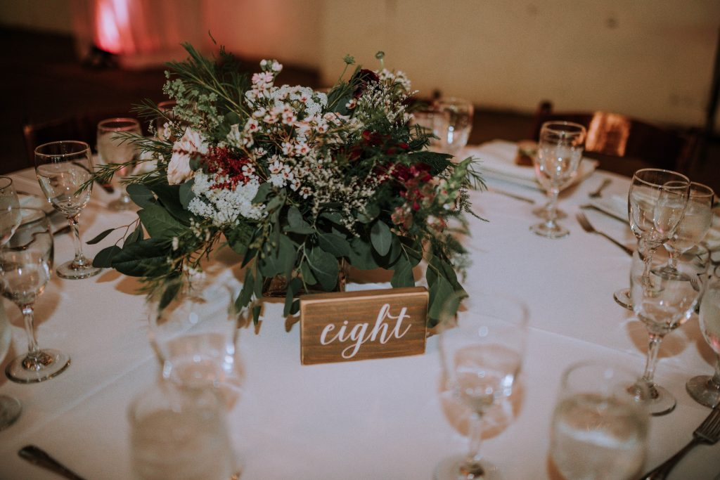 Wedding reception table design | Anela Benavides Photography