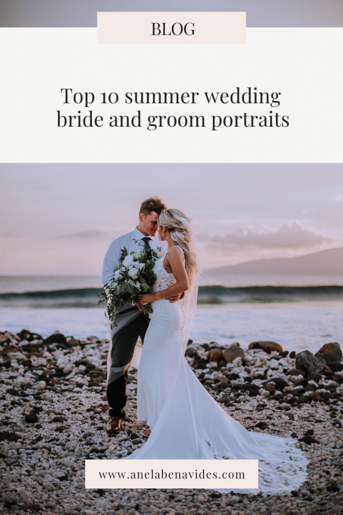 top 10 summer wedding inspiration in Hawaii by Anela benavides